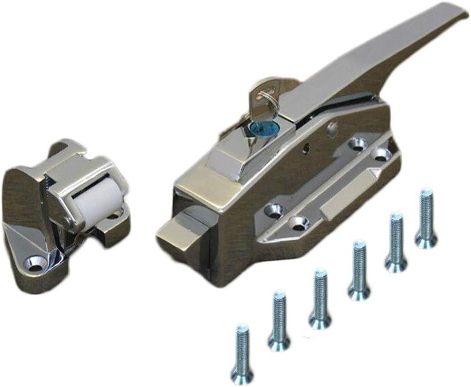 Cold Storage Door Handle Convex Door Safety Durable Oven Locking Speed Frozen Door Lock Low Temperature Resistance Belt Bolt Size : High seat