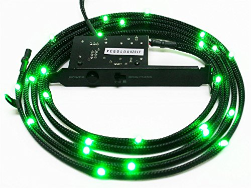 nzxt-cb-led20-gr-2-metres-light-sensitivity-sleeved-led-kit-green
