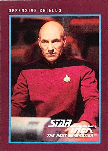 Captain Picard trading card Star Trek Next Generation 1991 #104 (Star Trek The Next Generation Trading Cards 1991)