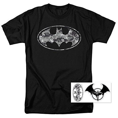 Batman Urban Digital Camo DC Comics T Shirt (XXXXX-Large) ()