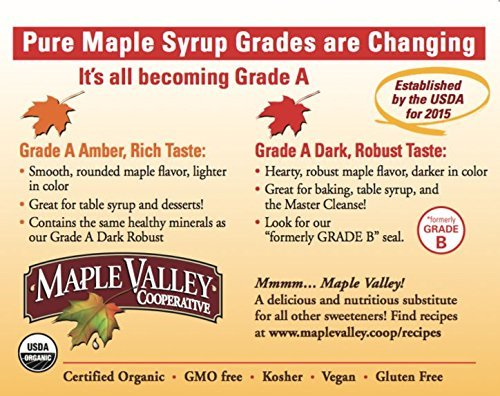 Maple Valley 12 Oz. Squeeze Bottle Grade A Dark & Robust (1 Pack) by Maple Valley (Image #4)