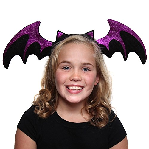 Making Believe Purple Glitter Bat -