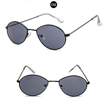 SKCLBOOS Gafas de Sol Gigi Hadid Gafas de Sol ovaladas ...