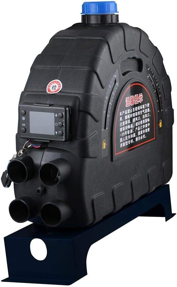 Euopat Air Diesel Heater 12V / 24V 5KW, All-in-One Air Diesel Heater Calentador De Coche Compacto para Camiones, Barcos, Remolques De Automóviles, Autocaravanas, Turismos, Autocaravanas, Caravanas