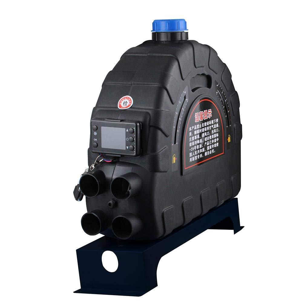 Zwangsluft-Parkheizungs-Maschine f/ür das Glas-Defogging und das Abtauen der Auto-Heizung 24V 5000W Auto-LKW-Kraftstoff-Diesel-Lufterhitzer Blue-Yan Neue 12V
