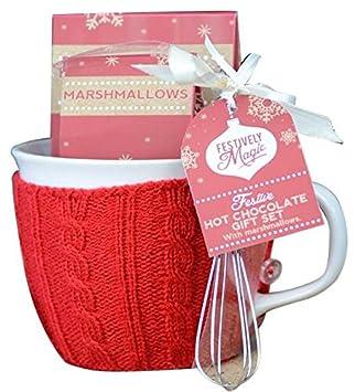 Amante Festively Magic Gourmet Chocolat Chaud Tasse Coffret Cadeau #NW_36