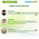 Mamaearth 100% Pure Castor Oil, Cold Pressed, To