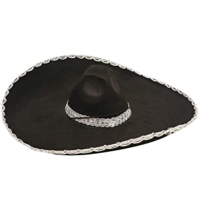 Dress Up America Adult Mexican Sombrero Hat - Available for Kids and Adults: Clothing
