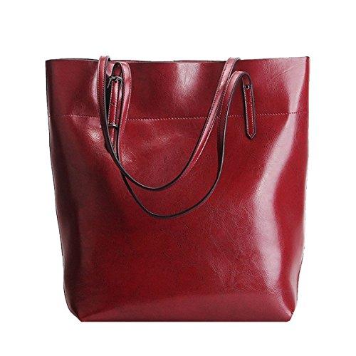 épaule Sac LF Sac 8825 E femme main main en cuir Bordeaux à Girl portés portés fashion Sac pOORqw7