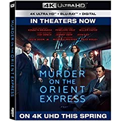 Murder on the Orient Express debuts on Digital Feb. 20 and on 4K, Blu-ray, DVD Feb. 27 from Fox