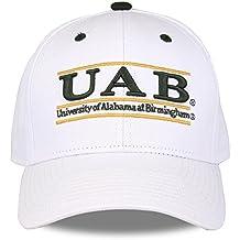 The Game NCAA Alabama Birmingham Blazers Unisex NCAA bar Design Hat, White, Adjustable