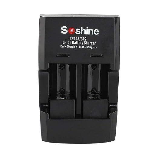 TwoCC para cargador de iones de litio USB de doble canal Soshine ...