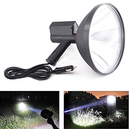 9 inch Handheld HID Xenon Lamp 1000W Outdoor Camping Hunting Spot Light