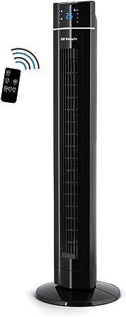 Orbegozo TWM 1009 – Ventilador de torre con mando a distancia, iónico, temporizador, 3 modos de funcionamiento ...