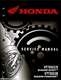 61MFE56 2010-2016 Honda VT750C2 Shadow Spirit Motorcycle Service Manual