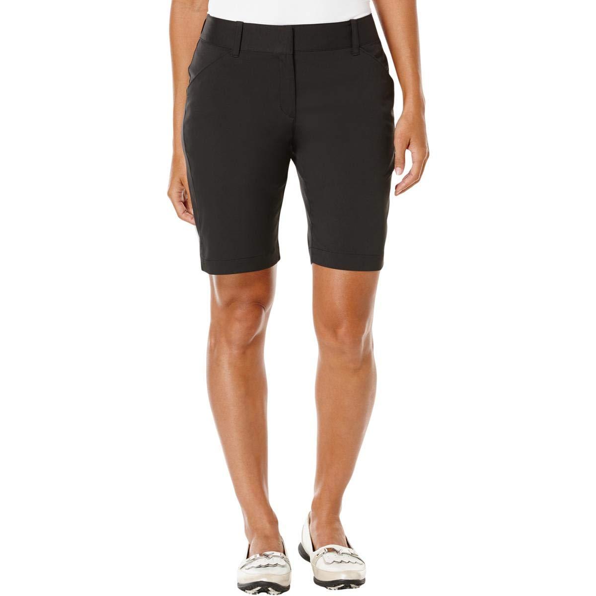 Callaway Women's Golf Performance 19'' Woven Shorts, Caviar, Size 6 by Callaway