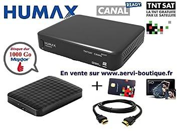 Pack receptor Satellite TNTSAT Humax tn8000hd PVR con disco ...