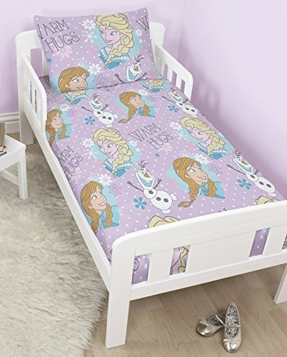 sale retailer c8152 e871a Frozen Toddler Bed Bedding Set