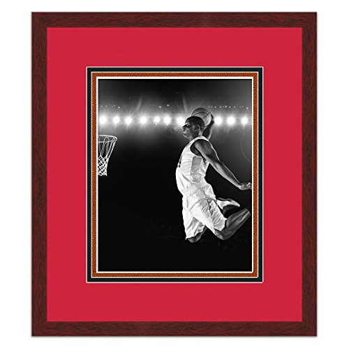Sports Frames Chicago Bulls Black Wood Picture Frame - Made to Display 8