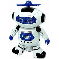 Çocuklar İçin Lazerli Müzikli Danseden Işıklı Oyuncak Robot