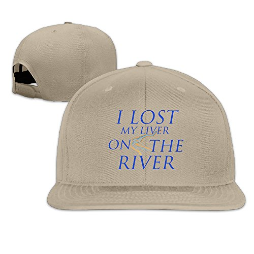 I Lost My Liver On The RiverFashion Unisex Baseball Adjustable Cap Trucker Hats -