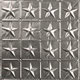 American Tin Ceilings Nail Up Tin Ceiling Tile Pattern #36 (5 Pack) (Unfinished)