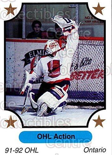 Windsor Spitfires Hockey Card 1991-92 7th Inning Sketch OHL #242 Windsor Spitfires