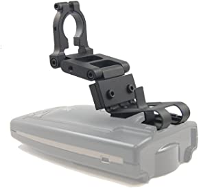 BlendMount BBE-2000R Aluminum Radar Detector Mount for Escort/Bel [EXCEPT MAX SERIES/EZ MAG- Compatible with Most American and Asian Vehicles - Made in USA - Looks OEM