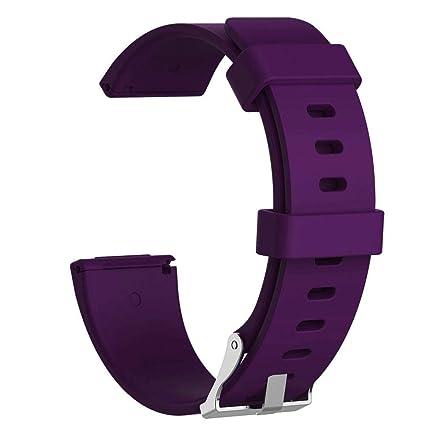 FOONEE Fitbit Versa Bandas de Silicona con Estuche, Banda ...