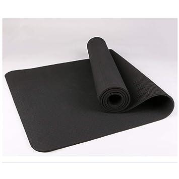 Yoga Mat High Density, 6mm Thinner Non Slip Exercise ...