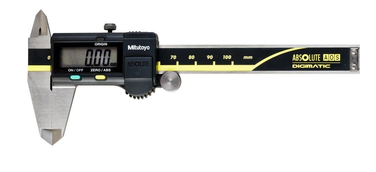 Absolute Scale Digital Caliper, Mitutoyo 500-196-30 Advanced Onsite Sensor AOS
