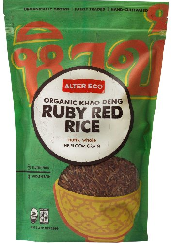 Alter Eco - Organic Khao Deng Ruby Red Rice - 8 Pack