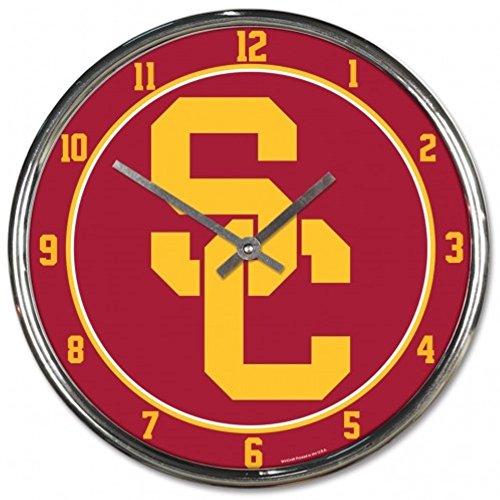- NCAA USC Trojans WinCraft Official Chrome Clock
