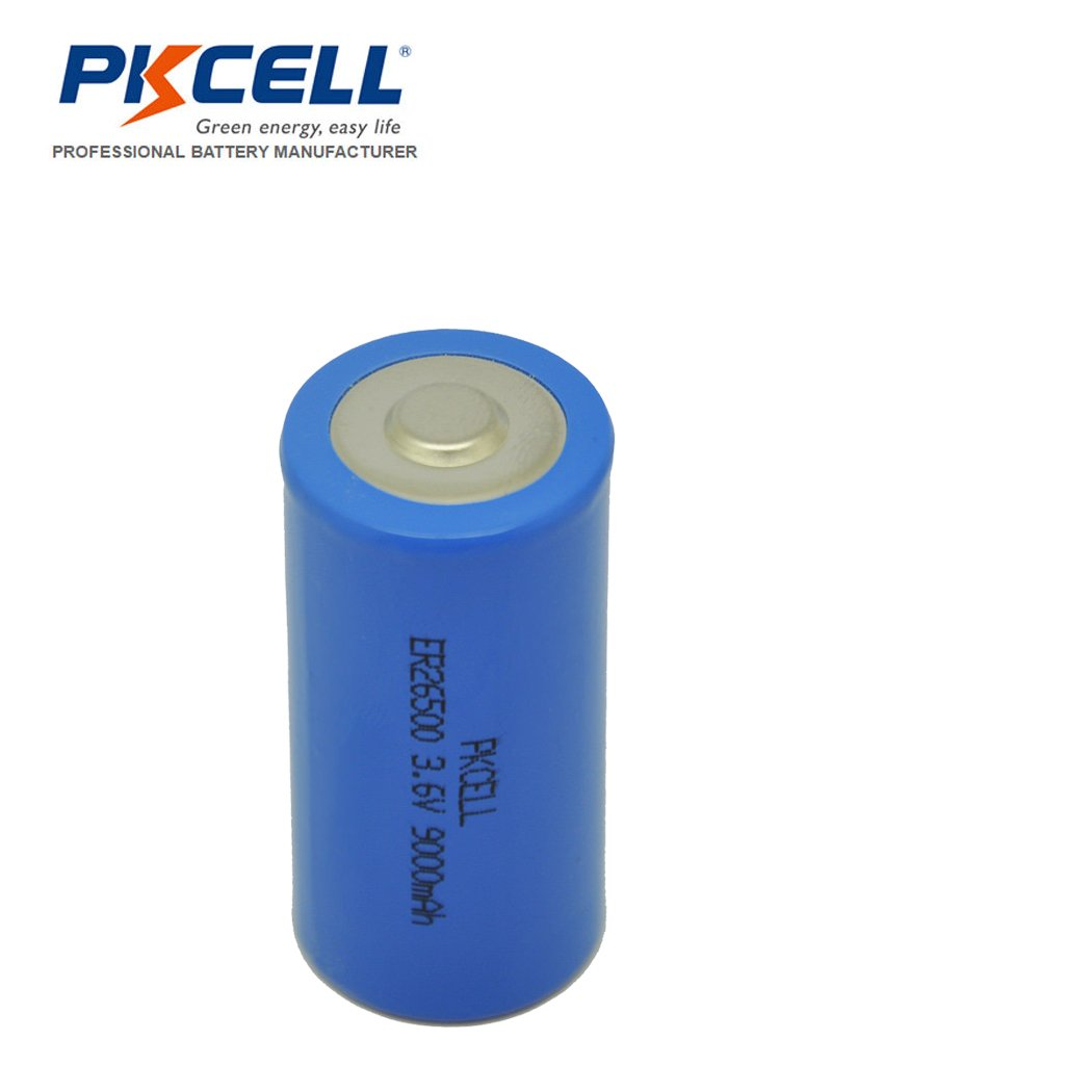ER26500 C Cell Lithium Batteries 3.6V 9000mAh Li-SOCl2 Battery 50pcs by PKCELL (Image #2)