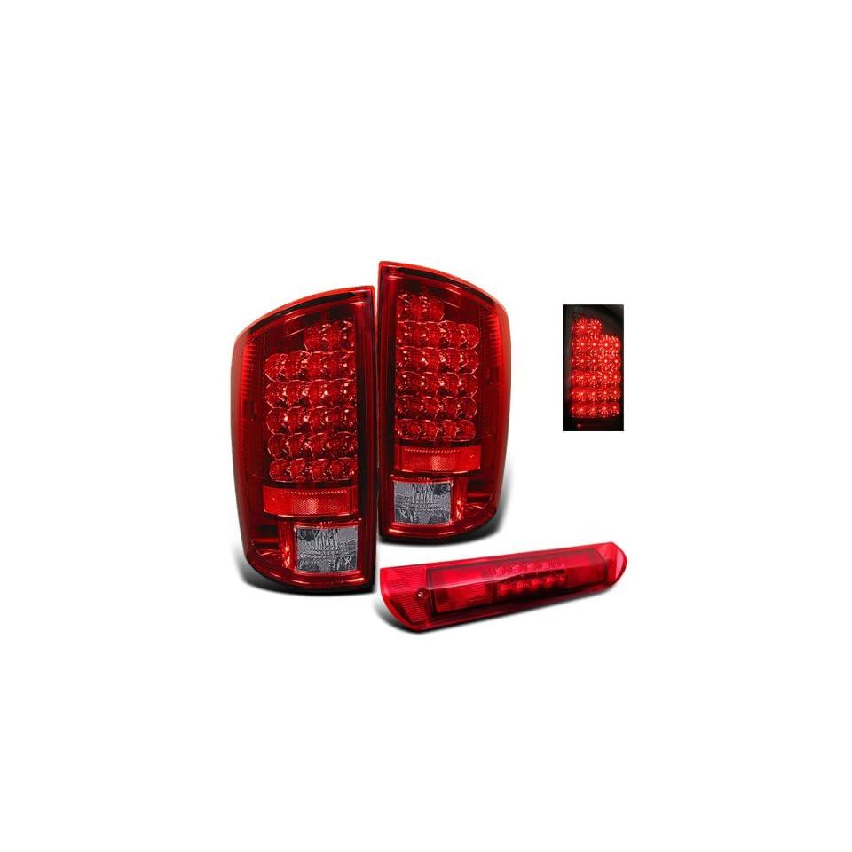 Eautolights 02 06 Dodge Ram LED Tail Lights + LED Brake Light
