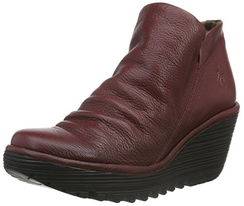 FLY London Damen Yip Boot Cordoba Rotes Mousse