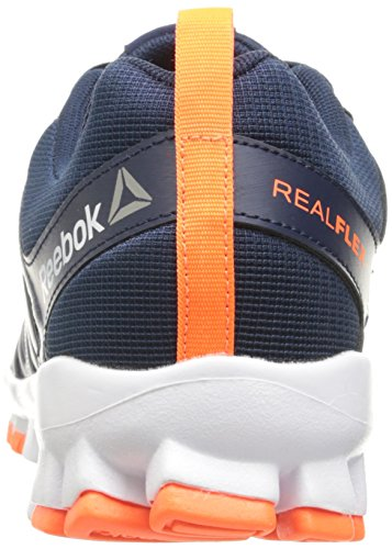 Reebok Men's Realflex Train 4.0 Running Shoe Collegiate Navy/Brave Blue/White/Wild Orange/Pewter clearance best store to get sale latest collections P0qRZyKY