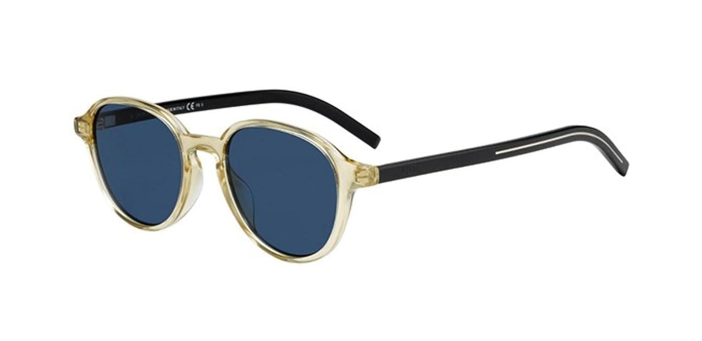 623d5461b7394 Amazon.com  New Christian Dior Homme Black Tie 240 S 71C KU Black Yellow  Sunglasses  Clothing
