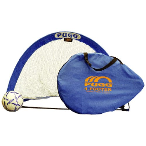 PUGG 4 Footer Portable Training Goal Set (Two Goals & Bag) by PUGG