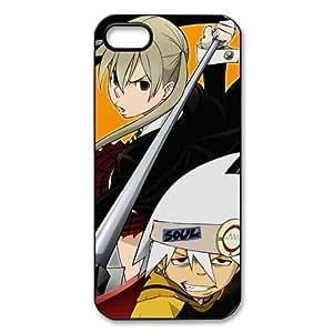 Heavenly Cases Anime 'Soul Eater' Hard Case Cover Skin for Apple iPhone 5/5s- 1 Pack - Black/White - 4- Perfect Gift for Christmas...