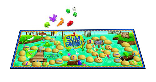 Learning Resources Sum Swamp Game, 8 Pieces ()