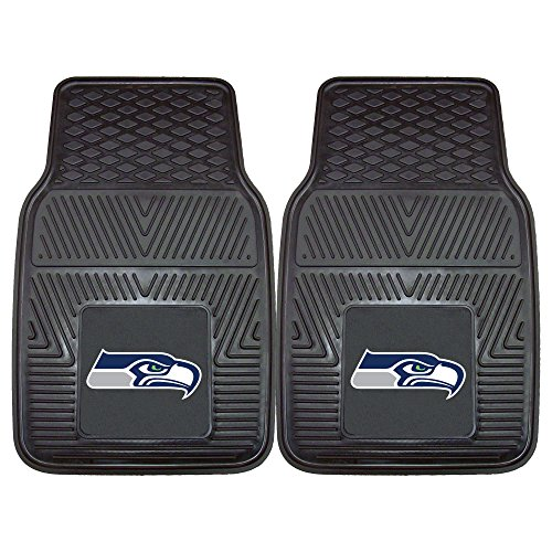 Fanmats 8904 NFL Seattle Seahawks Vinyl Heavy Duty Car Mats