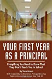 Your First Year as a Principal, Tena Green, 1601382200