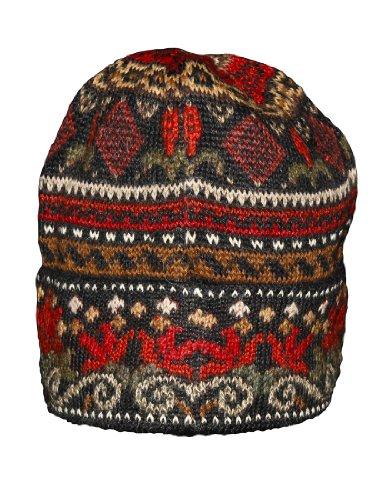 Invisible World Women's 100% Alpaca Wool Hat Knit Unisex Beanie Winter Julia Md