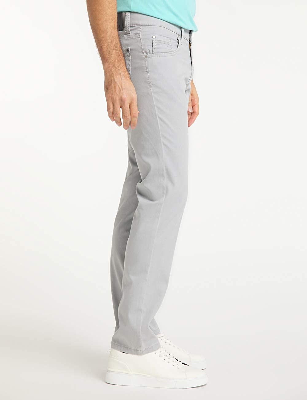 Pioneer Men's Hose Rando Megaflex Trouser Grey (Light Grey 15)