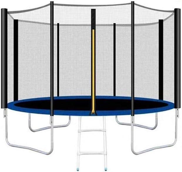 Trampolines, (10 pulgadas) cama elástica for jardín, cama elástica for niños, cama elástica, incluyendo colchoneta