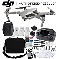 DJI Mavic Pro Platinum FLY MORE COMBO Collapsible Quadcopter Water-Resistant Rugged Compact Storage Case Bundle