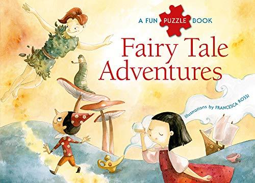 Fairy Tale Adventures: A Fun Puzzle Book