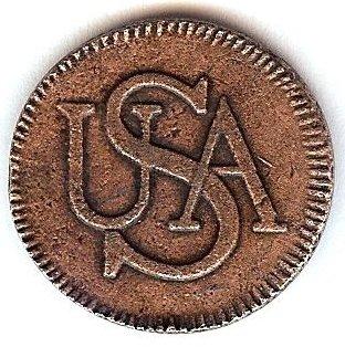1785 Colonial Bar Cent (Colonial Bar)