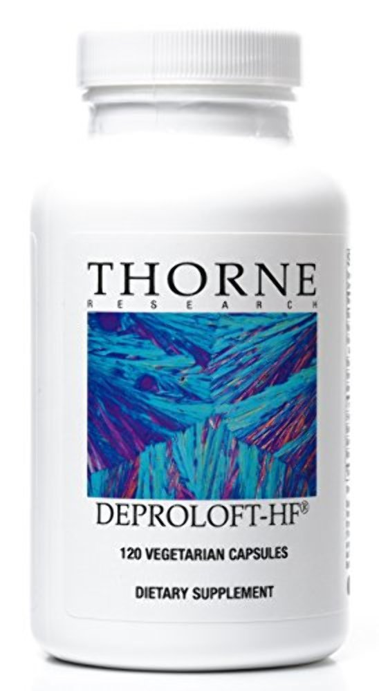 Thorne Research - Deproloft-HF - Botanical Supplement for Mood and Stress Management - 120 Capsules by Thorne Research